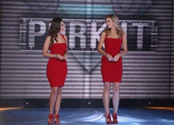 Model Hosts Paige Collings and Korrina Rico