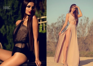 Mahlagha Jaberi Otto Models Los Angeles Agency