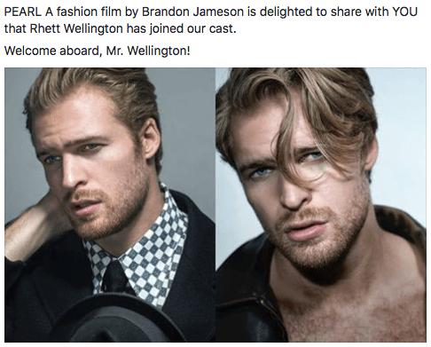 Rhett Wellington - PEARL • a Fashion Film La Jolla Film Festival